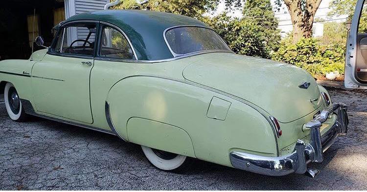 Hillbilly Blanco & 1949 Chevrolet styleline