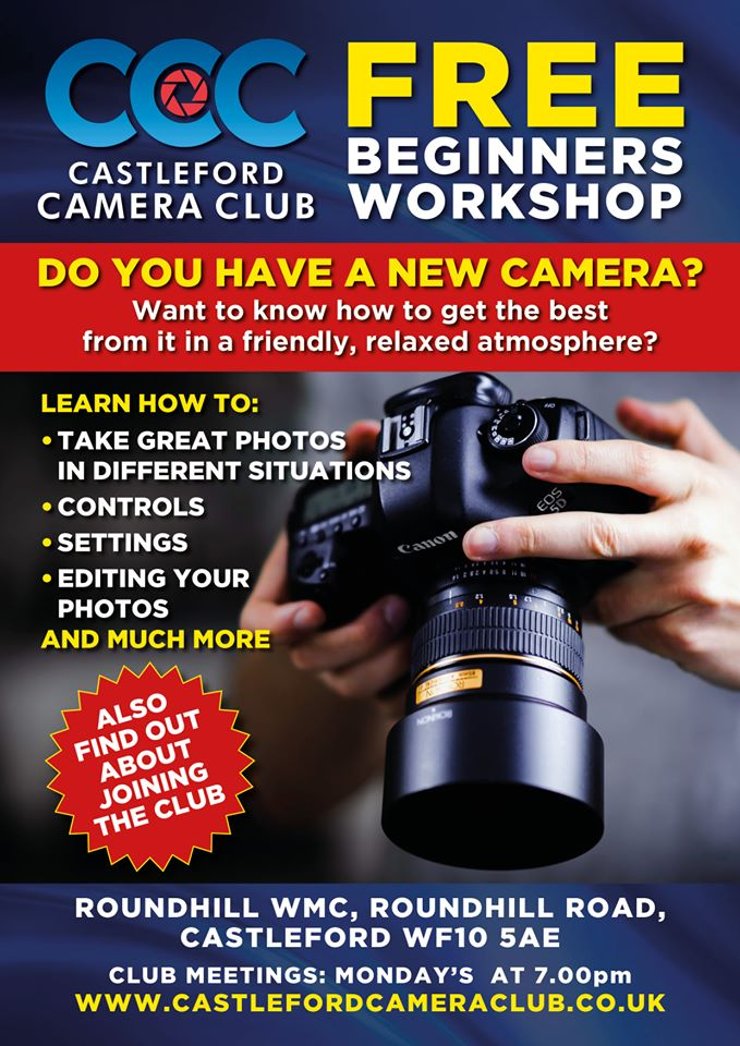 FREE Photography Workshop